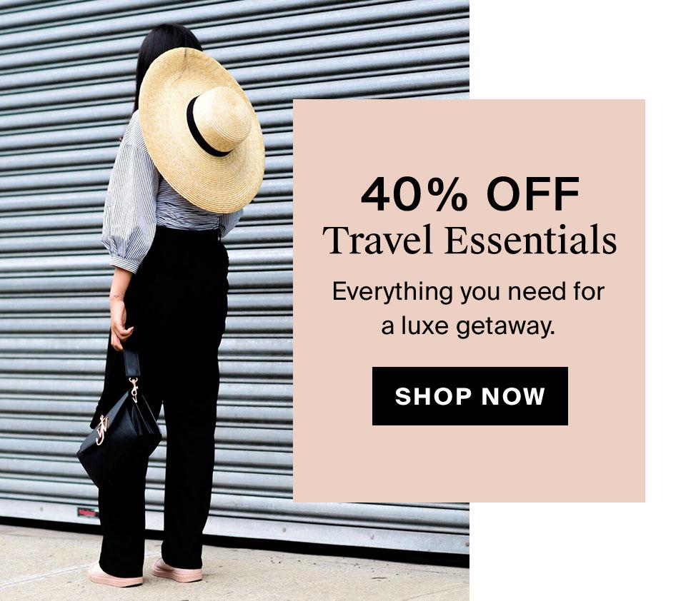 40% Off Travel Essentials