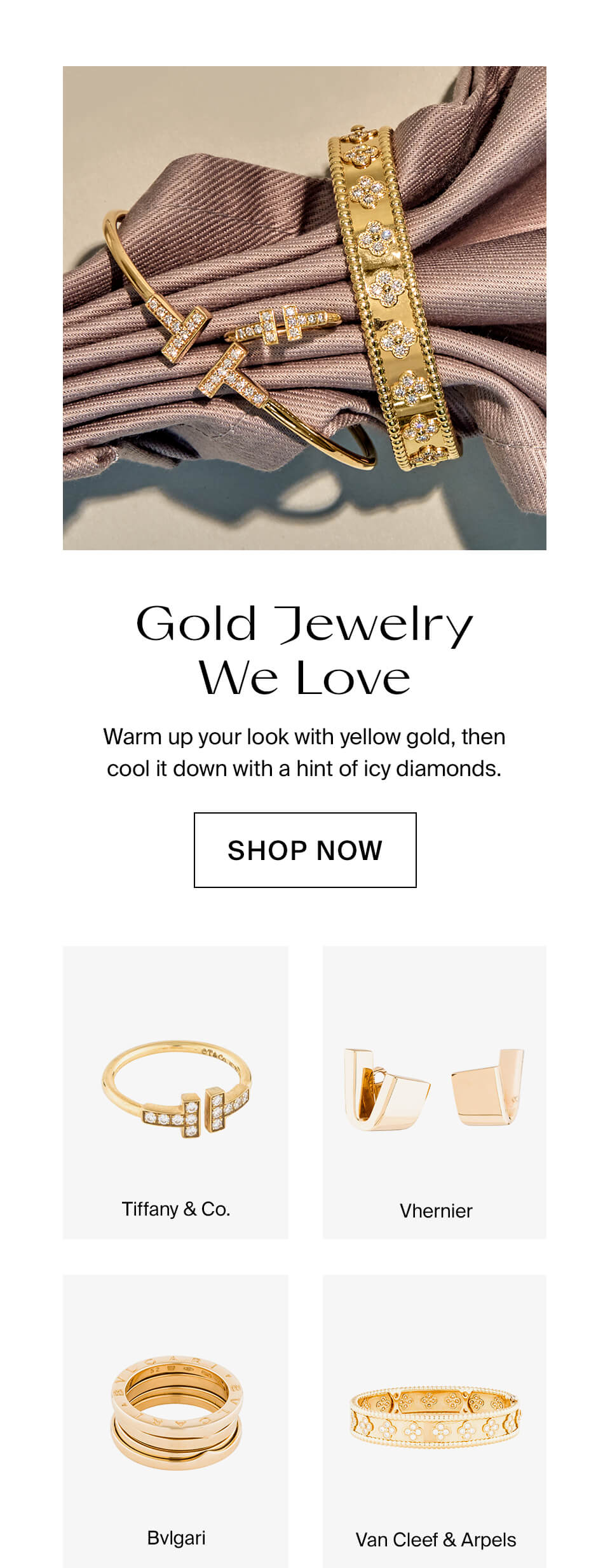 Gold Jewelry We Love Shop Now