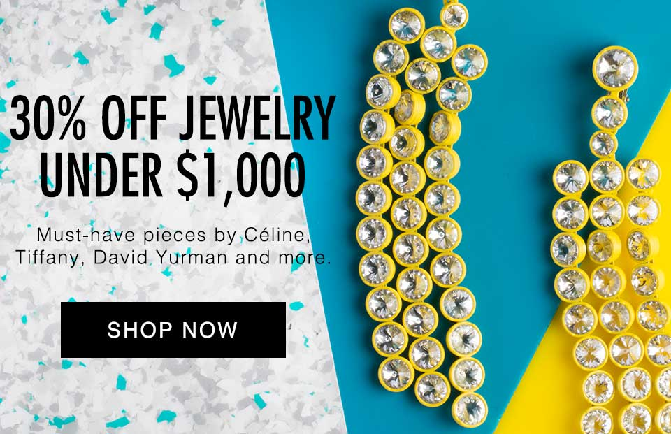 30% Off Jewelry Under $1,000 Flash Sale | The RealReal