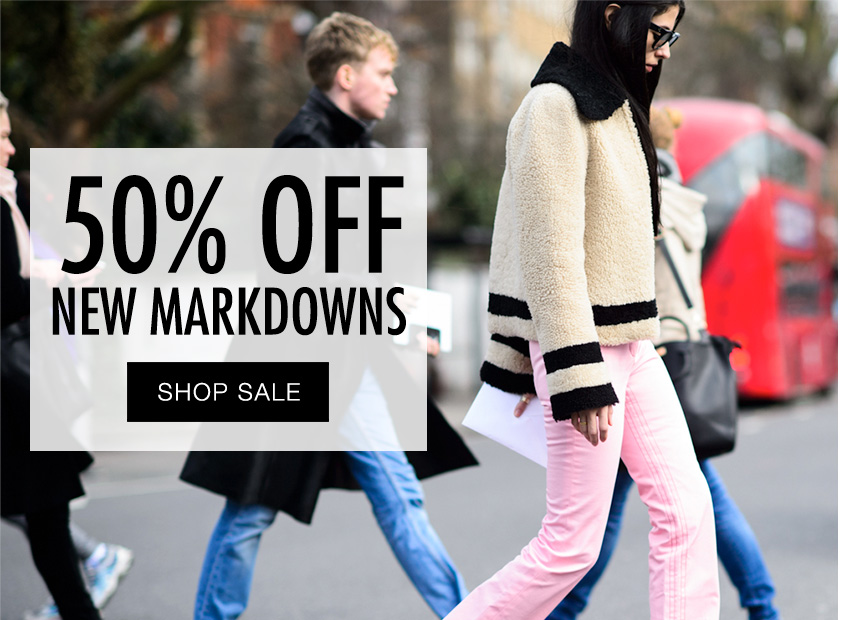 50% Off New Markdowns | The RealReal: Shop designer consignment sales for Louis Vuitton, Gucci, Prada, Hermes, Tory Burch, Kate Spade, Tom Ford, Dior Homme, Brunello Cucinelli and more.